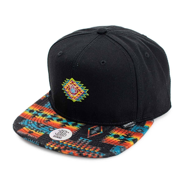 Djinns Aztek Crown 6 Panel Snapback Cap 1003717-