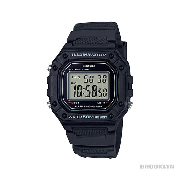 Casio Retro Wrist Watch Digital Armband Uhr W-218H-1AVEF-