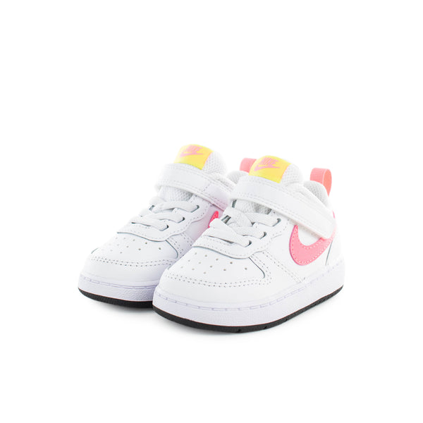 Nike Court Borough Low 2 (TD) BQ5453-108 - weiss-pink
