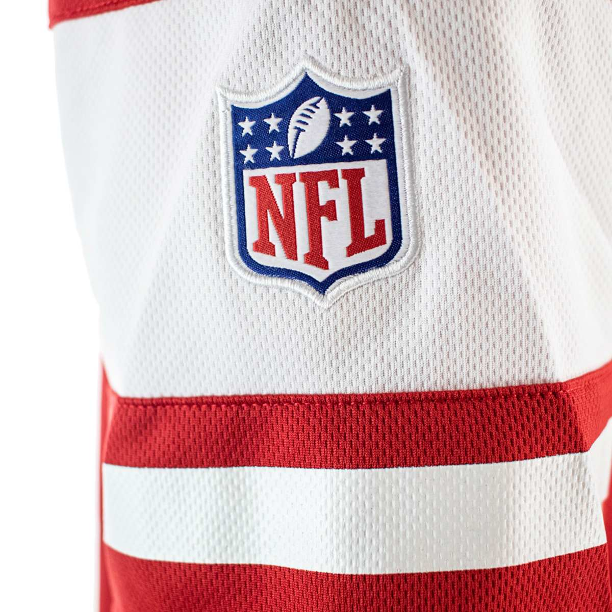 Fanatics San Francisco 49ers NFL Franchise Poly Mesh Supporters Jersey Trikot 2080MREDFHES49-
