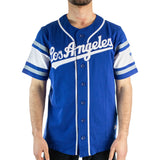Fanatics Los Angeles Dodgers MLB Franchise Cotton Supporters Jersey Trikot 2081MRYLFHELAD - blau-weiss
