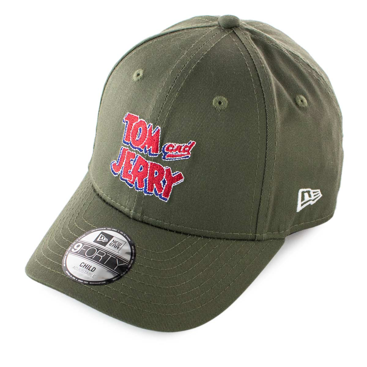 New Era 940 Tom & Jerry Film Character Cap 60112545Child - grün-rot