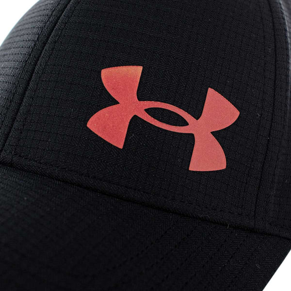 Under Armour Armour Vent Stretch Cap 1361530-002 - schwarz-rot