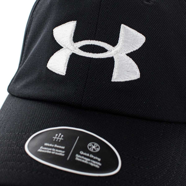 Under Armour Blitzing Adjustable Cap 1361532-001 - schwarz-weiss