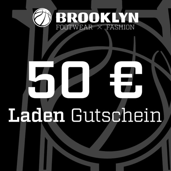 Brooklyn 50 Euro Gutschein LADEN BRGS50-