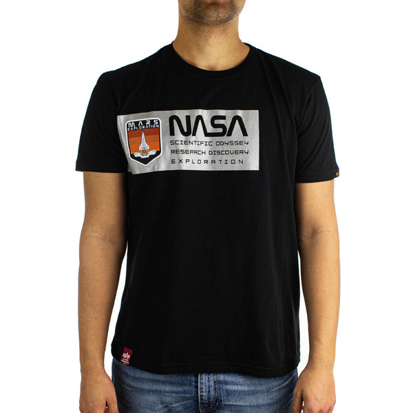 Alpha Industries Inc Mars Reflective T-Shirt 126532-03-