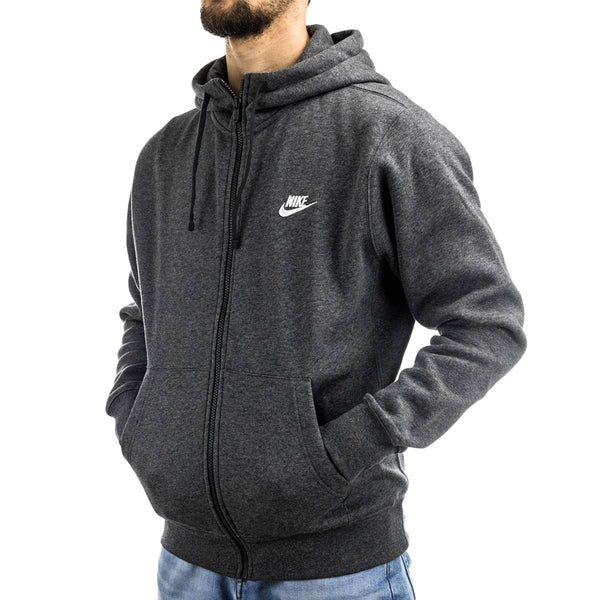 Nike NSW Club Fleece BB Zip Hoodie BV2645-071-