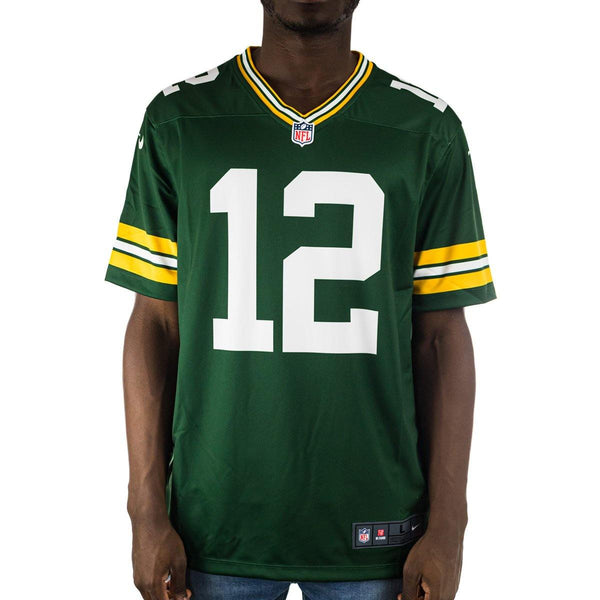 Nike Green Bay Packers NFL Aaron Rodgers #12 Legend Team Colour Jersey Trikot 94NMHLGP7TF1WA-