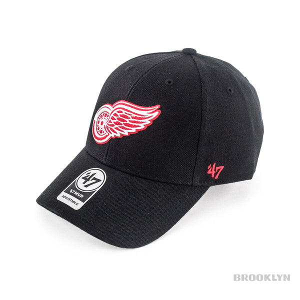 47 Brand Detroit Red Wings NHL MVP Cap H-MVP05WBV-BKA-OSF