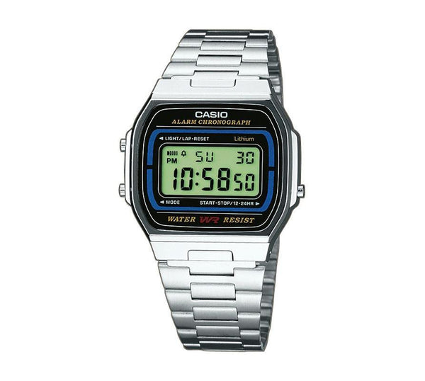 Casio Retro Digital Armband Uhr A164WA-1VES-