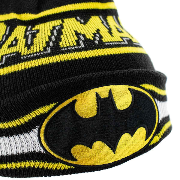 New Era Youth Batman DC Character Knit Winter Mütze 12490226-