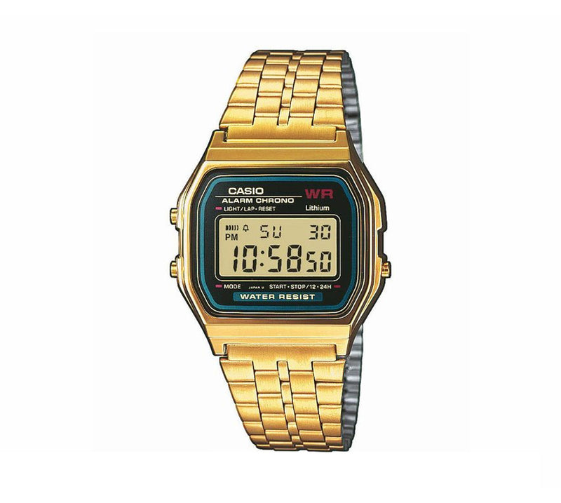 Casio Retro Digital Armband Uhr A159WGEA-1EF