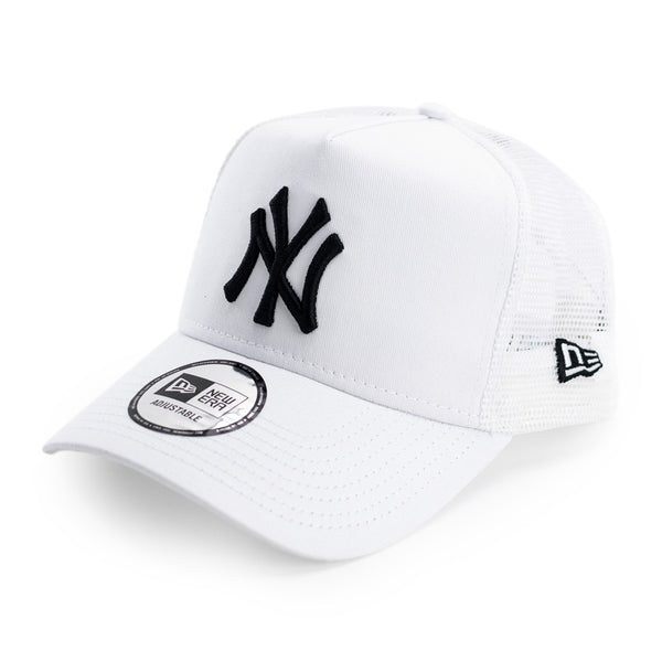 New Era New York Yankees MLB Essential A-Frame Trucker Cap 12285467-