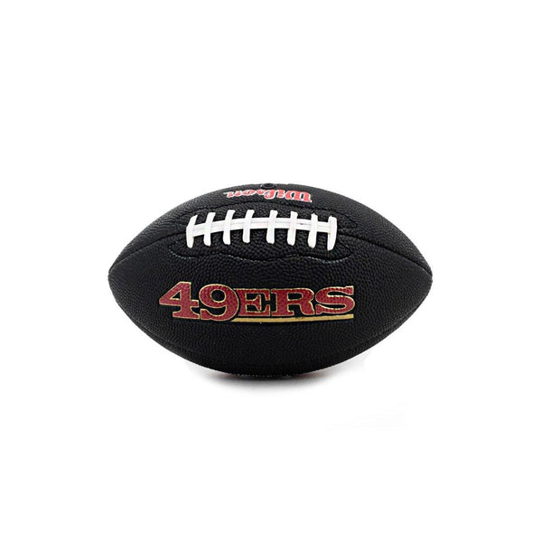 Wilson Mini San Francisco 49ers NFL Team Soft Touch American Football WTF1533BLXBSF-