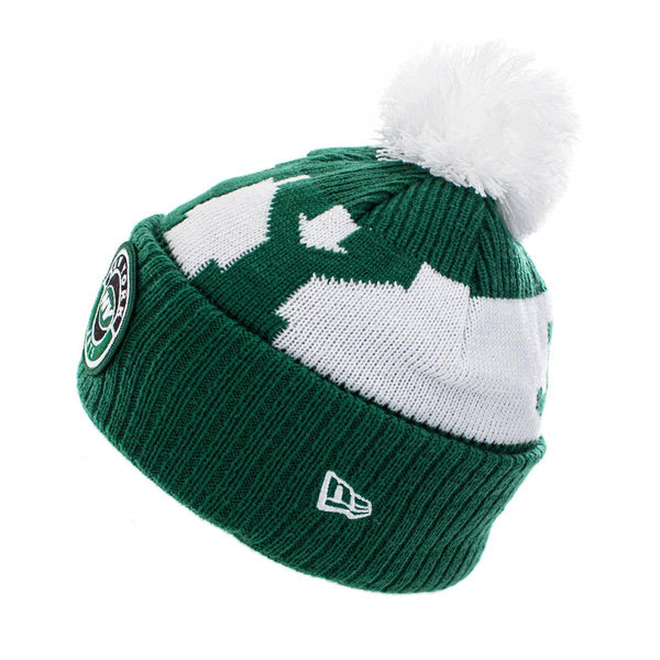 New Era New York Jets NFL On Field Sport Knit Winter Mütze 60011881-