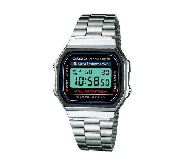 Casio Retro Digital Armband Uhr A168WA-1YES-