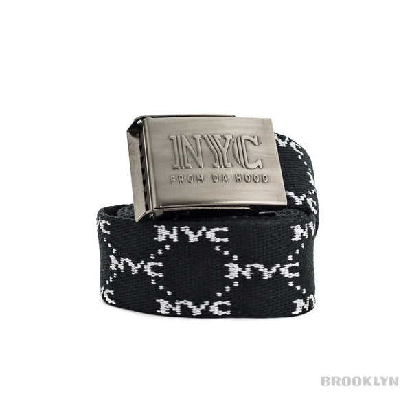 NYC All Over Printed Gürtel NYCWB-BLK-