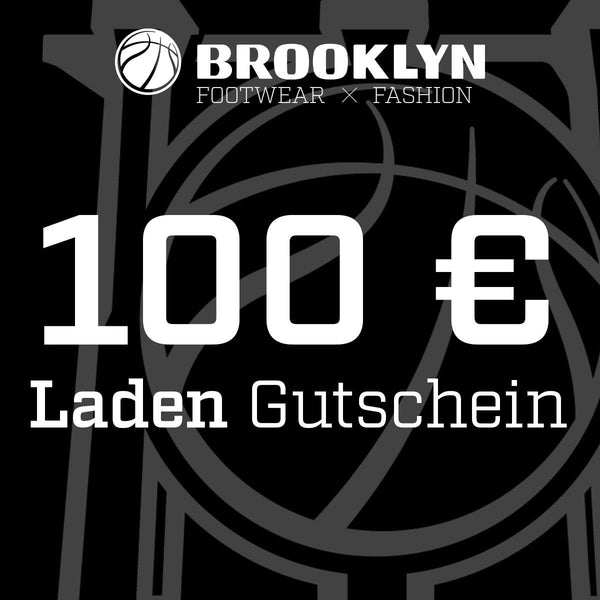 Brooklyn 100 Euro Gutschein LADEN BRGS100-