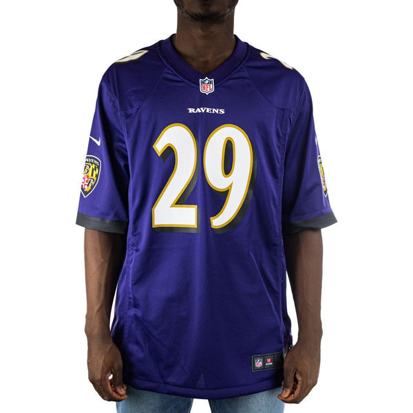 Nike Baltimore Ravens NFL Edward Thomas #29 Game Team Colour Jersey Trikot 67NMBLGH8GF2NB-