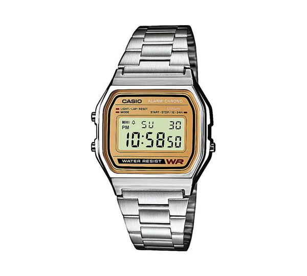 Casio Retro Digital Armband Uhr A158WEA-9EF-