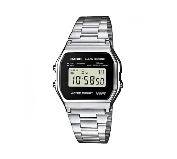Casio Retro Digital Armband Uhr A158WEA-1EF-