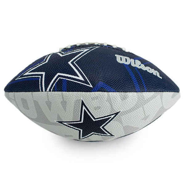 Wilson Dallas Cowboys NFL Junior Team Logo (Gr. 7) American Football WTF1534XBDL-