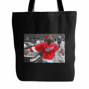 2pac Spitting Tote Bag
