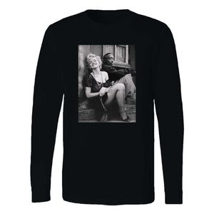 2pac X Marilyn Monroe Long Sleeve T-Shirt