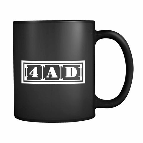 4ad Records Logo 11oz Mug