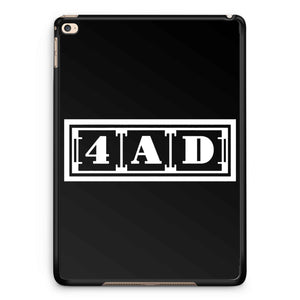 4ad Records Logo iPad 2 / 3 / 4 / 5 / 6| iPad Air / Air 2 | iPad Mini 1 / 2 / 3 / 4 | iPad Pro Case