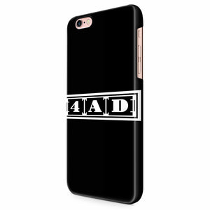 4ad Records Logo iPhone 6/6S/6S Plus | 7/7S/7S Plus | 8/8S/8S Plus| X/XS/XR/XS Max 3D Case
