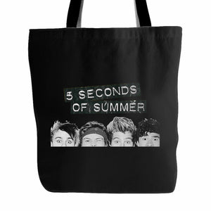 5 Second Of Summer Eyes Tote Bag