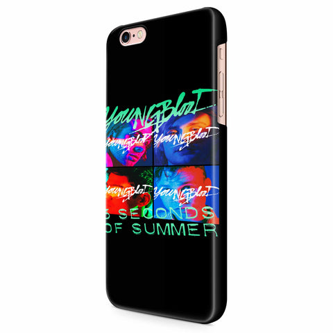 5 Second Of Summer Youngblood iPhone 6/6S/6S Plus | 7/7S/7S Plus | 8/8S/8S Plus| X/XS/XR/XS Max 3D Case