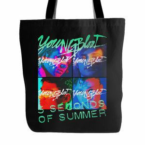 5 Second Of Summer Youngblood Tote Bag