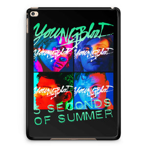 5 Second Of Summer Youngblood iPad 2 / 3 / 4 / 5 / 6| iPad Air / Air 2 | iPad Mini 1 / 2 / 3 / 4 | iPad Pro Case