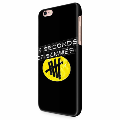 5 Seconds Of Summer Logo iPhone 6/6S/6S Plus | 7/7S/7S Plus | 8/8S/8S Plus| X/XS/XR/XS Max 3D Case