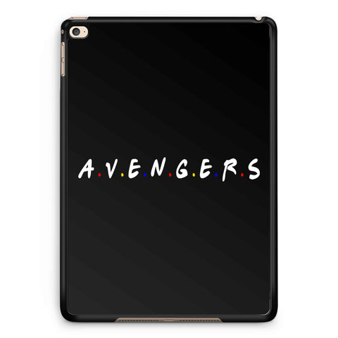 A.V.E.N.G.E.R.S Friends Parody iPad 2 / 3 / 4 / 5 / 6| iPad Air / Air 2 | iPad Mini 1 / 2 / 3 / 4 | iPad Pro Case