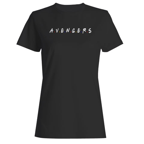 A.V.E.N.G.E.R.S Friends Parody Woman's T-Shirt