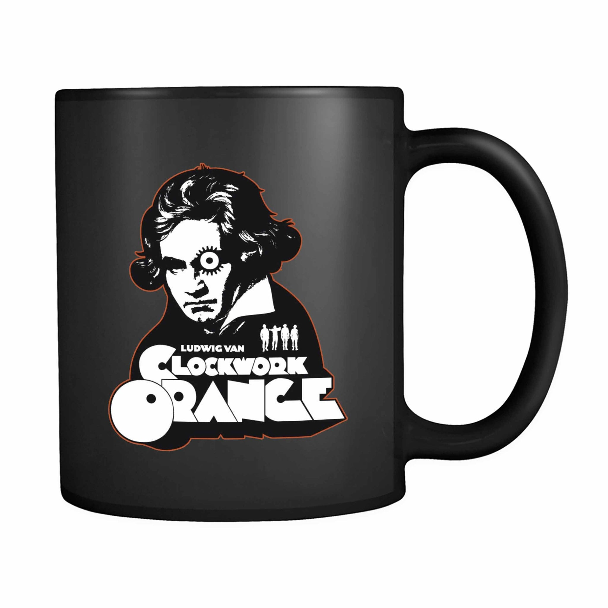 A Clock Orange Ludwig Van 11oz Mug