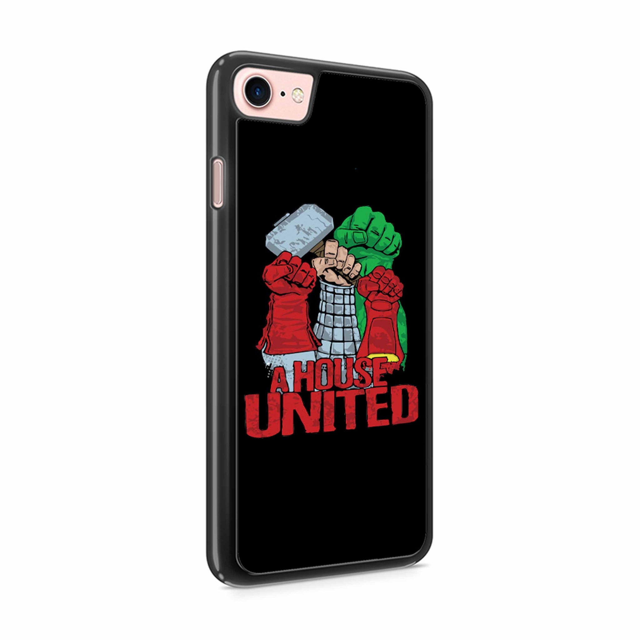 A House United Avenger Logo Iphone 7 / 7 Plus / 6 / 6s / 6 Plus / 6S Plus / 5 / 5S / 5C Case