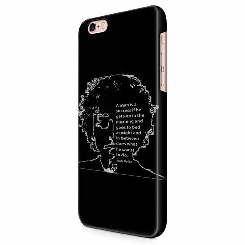 A Man Is A Success If He Gets Up In The Morning iPhone 6/6S/6S Plus | 7/7S/7S Plus | 8/8S/8S Plus| X/XS/XR/XS Max 3D Case