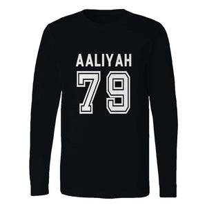 Aaliyah 79 Baseball Long Sleeve T-Shirt