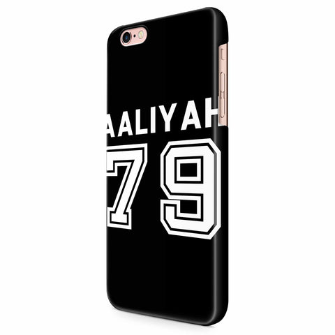 Aaliyah 79 Baseball iPhone 6/6S/6S Plus | 7/7S/7S Plus | 8/8S/8S Plus| X/XS/XR/XS Max 3D Case