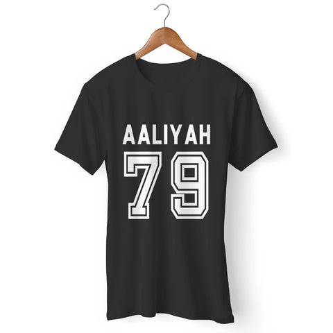 Aaliyah 79 Baseball Man's T-Shirt