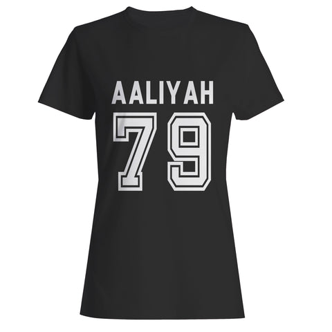 Aaliyah 79 Baseball Woman's T-Shirt