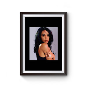 Aaliyah Queen Of Rnb Poster