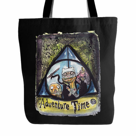 Adventure Time Harry Potter Tote Bag