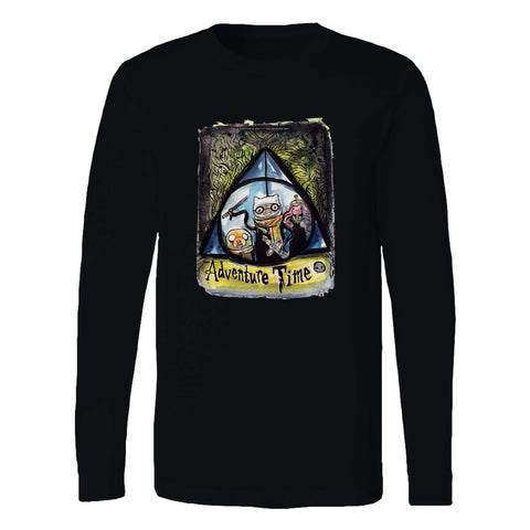 Adventure Time Harry Potter Long Sleeve T-Shirt