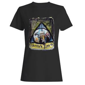 Adventure Time Harry Potter Woman's T-Shirt