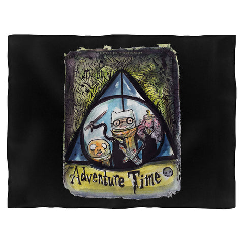 Adventure Time Harry Potter Blanket